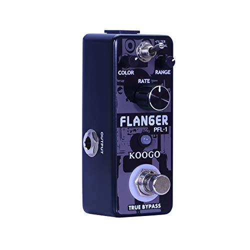 Koogo Vintage Analog Flanger Guitar Effect Pedal