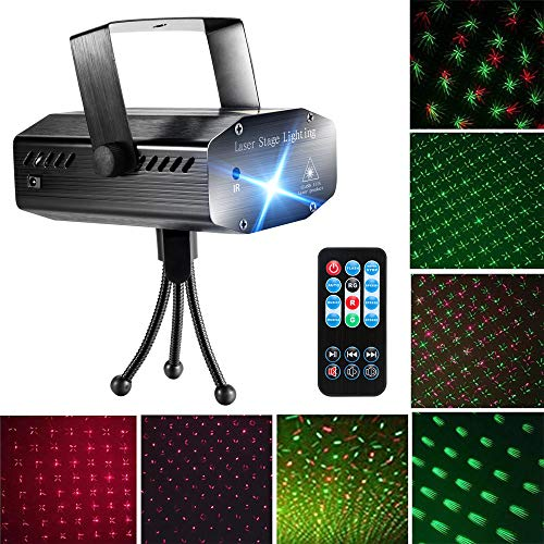 Blingco Sound Activated LED Laser Light Projector