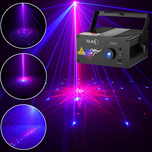 SUNY DJ Mixed Laser Lighting