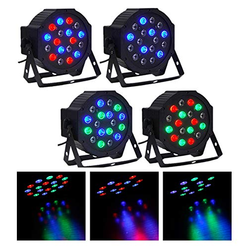 CO-Z DMX Controlled LED Party Lights