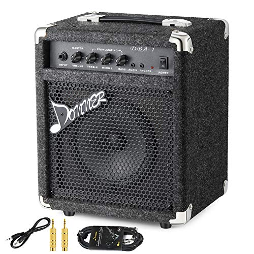 New Donner 15W Bass Guitar Amplifier