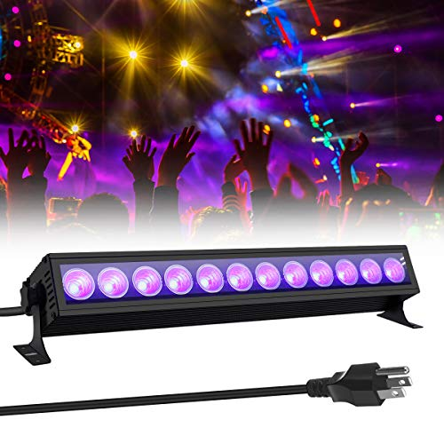 GLIME Sound Activated LED Stage Lights