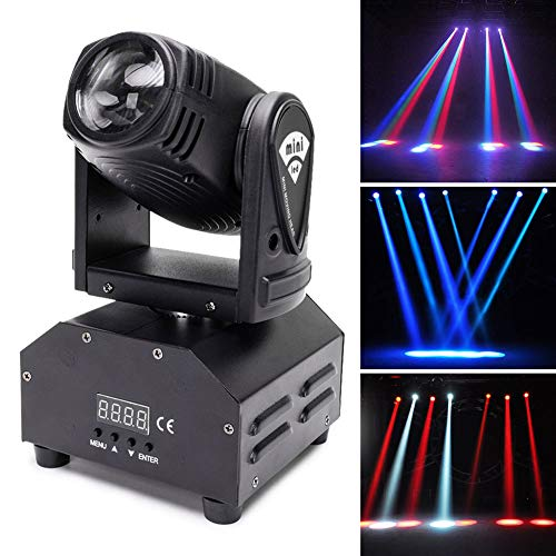 U`KING Rotating Disco Light
