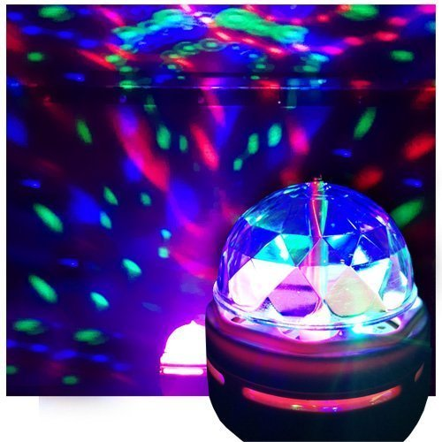LED Crystal Ball Effect Light