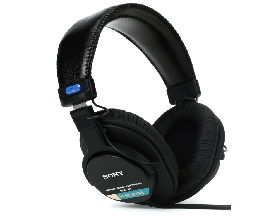Sony Mdr 7506 Closed Back Headphones