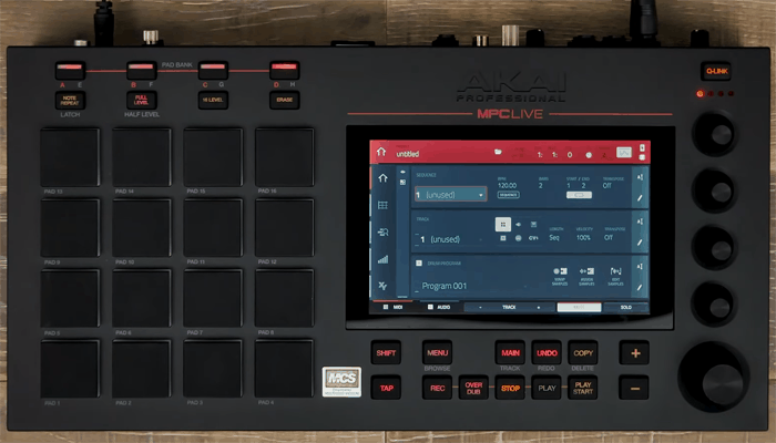 Akai Professional Mpc Live Sequencer