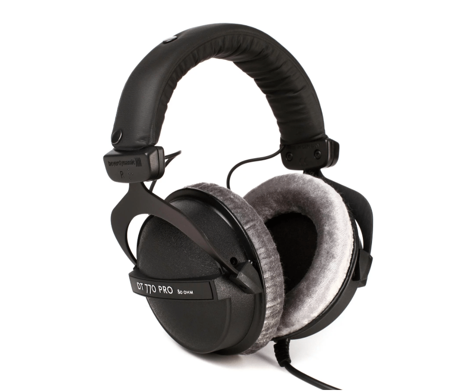 Beyerdynamic Dt 770 Pro 80 Ohm Closed Back Studio Mixing Headphones