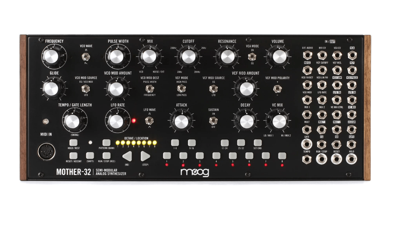 Moog Mother 32 Semi Modular Eurorack Analog Synthesizer