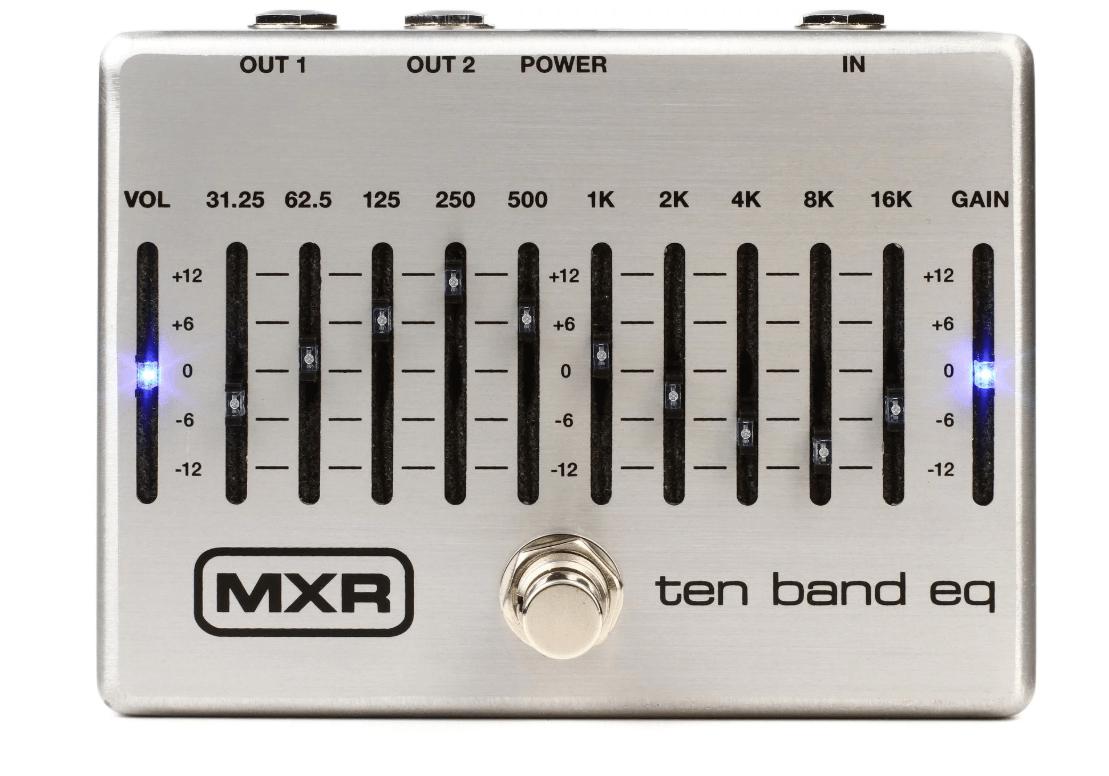 Mxr M108S Ten Band Eq Pedal