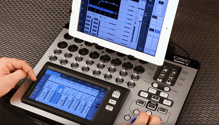 Qsc Touchmix 16 Touchscreen