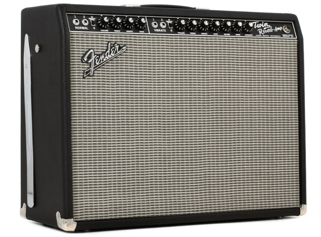 Fender 65 Twin Reverb 85 Tube Combo Amp
