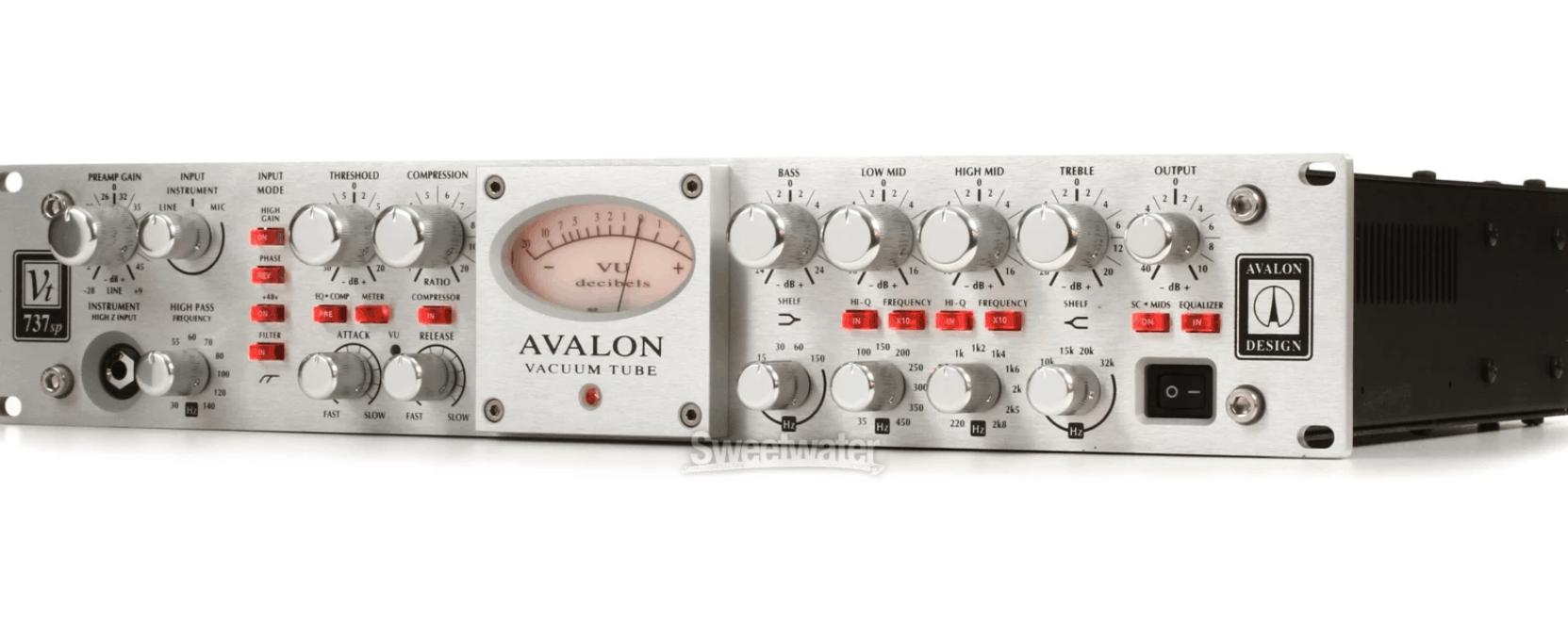 Avalon Vt 737Sp Class A Mono Tube Channel Strip