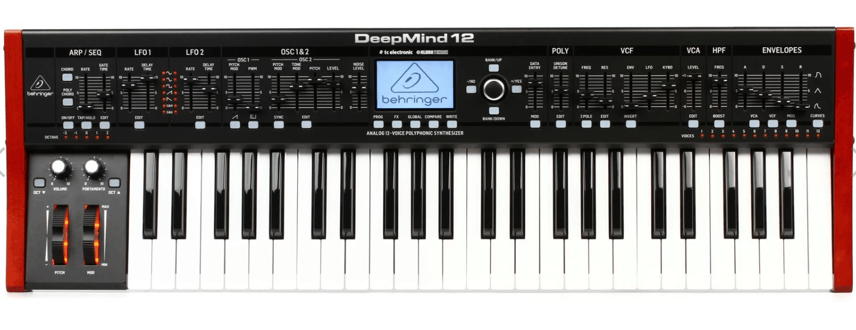 Behringer Deepmind 12 49 Key 12 Voice Analog Synthesizer
