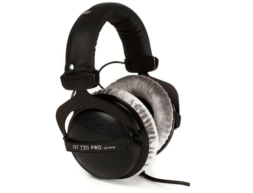 Beyerdynamic Dt 770 Pro 250 Ohm Closed Back Studio Mixing Headphones