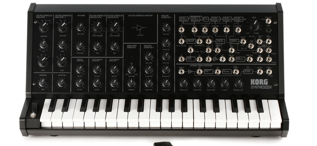 Korg Ms 20 Mini Semi Modular Analog Synthesizer
