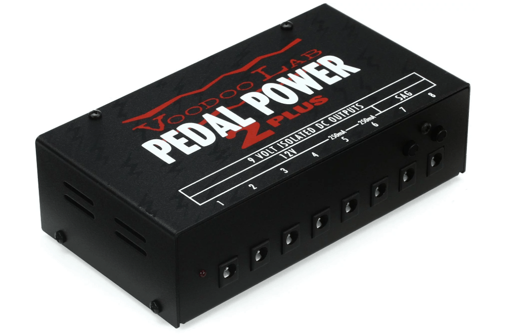 Voodoo Lab Pedal Power 2 Plus 8 Output Isolated Guitar Pedal Power Supply
