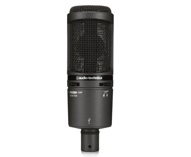AT2020 USB+ Audio Technica Cardioid USB Condenser Microphone