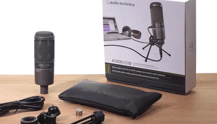AT2020 USB+ Audio Technica