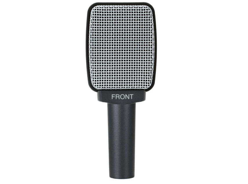 Sennheiser E 609 Silver Dynamic Supercardioid Guitar Microphone