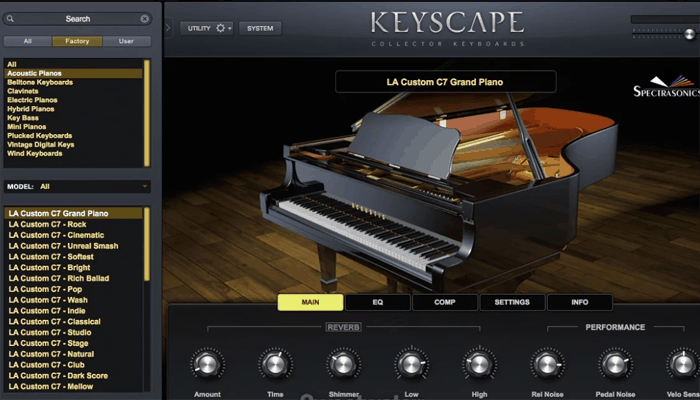 Spectrasonics Keyscape Collector
