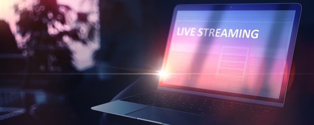 Laptop Live Streaming