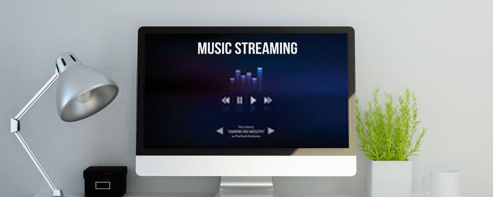 Music streaming website