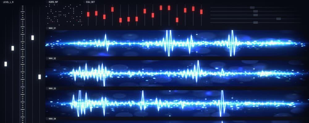 Audio software UI