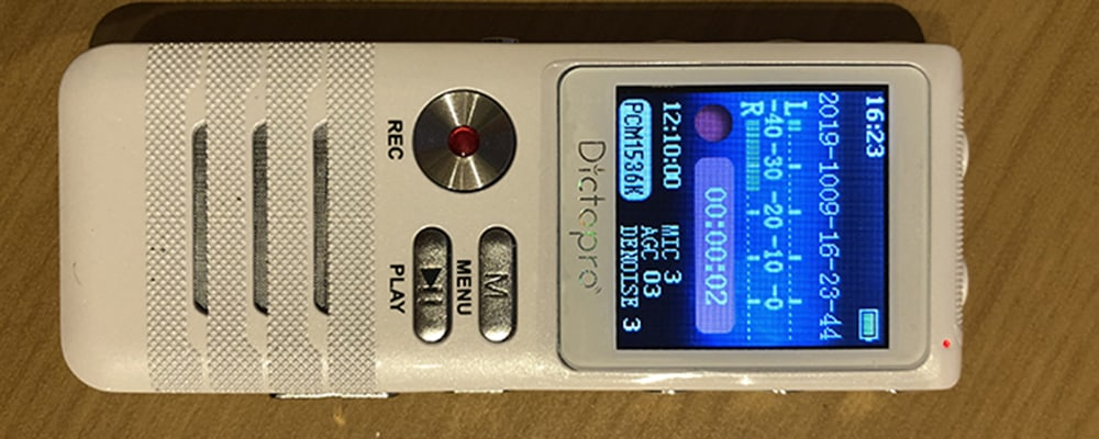 Dictapro X100 Dictaphone