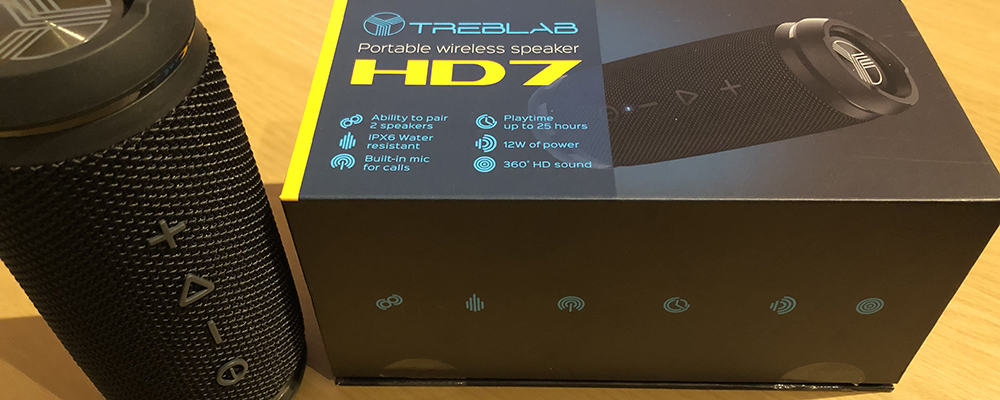 Treblab HD7 Portable Wireless Speaker
