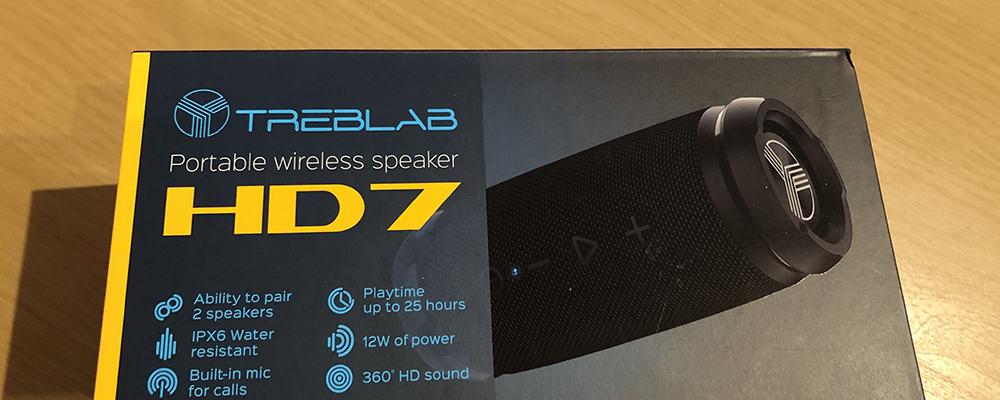 Treblab HD7 Wireless Speaker