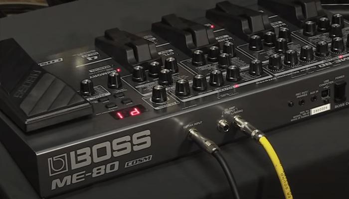 Boss ME-80 Pedal